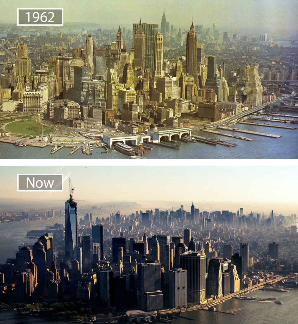 New York Usa Then And Now Pictures Old Pictures Pictures