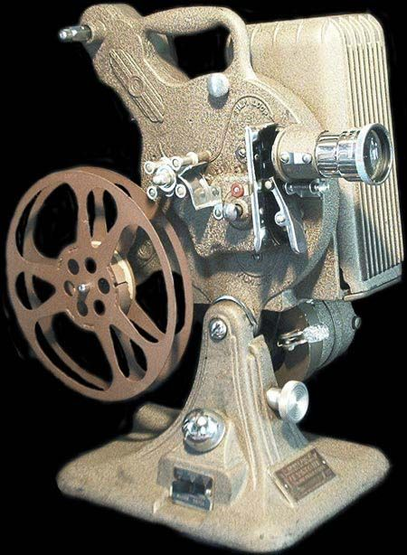 Vintage KEYSTONE 16mm Model A-82 Movie Projector.  Carissa and I just scored one of these at a stoop sale for only $30!