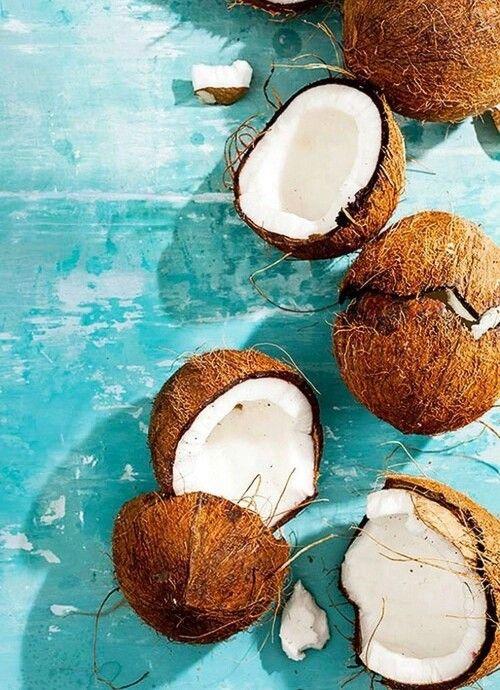 coconut. via Tumblr #frutatropical #fruta #delicioso # ...