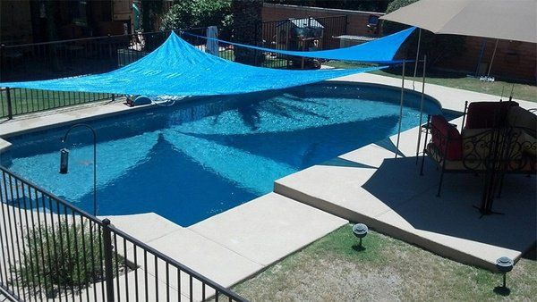 20 Pool Shade Deas Patio Design Outdoor Awnings Sail Shade