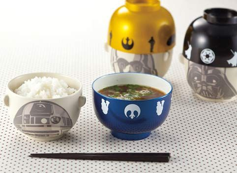 STAR WARS Soup Bowl + Rice Bowl Set - Storm Trooper