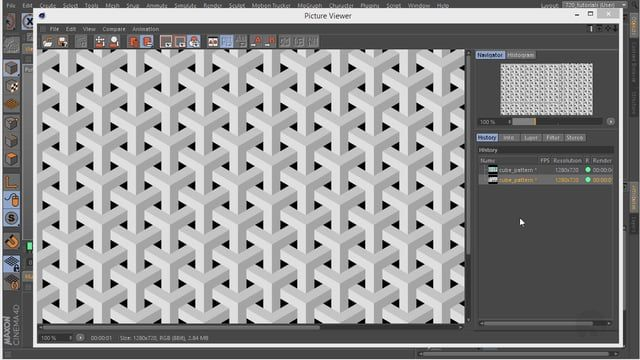 """In this quick Cinema 4D follow up tutorial, I am going to show how to create """"goyard"""" pattern. Get Project file at: http://www.caligofx.net/tutorials/goyard-pattern Twitter: twitter.com/CaligoFx Facebook: facebook.com/pages/Caligo-Fx/453654041393273 Google+: google.com/+CaligofxNet"""