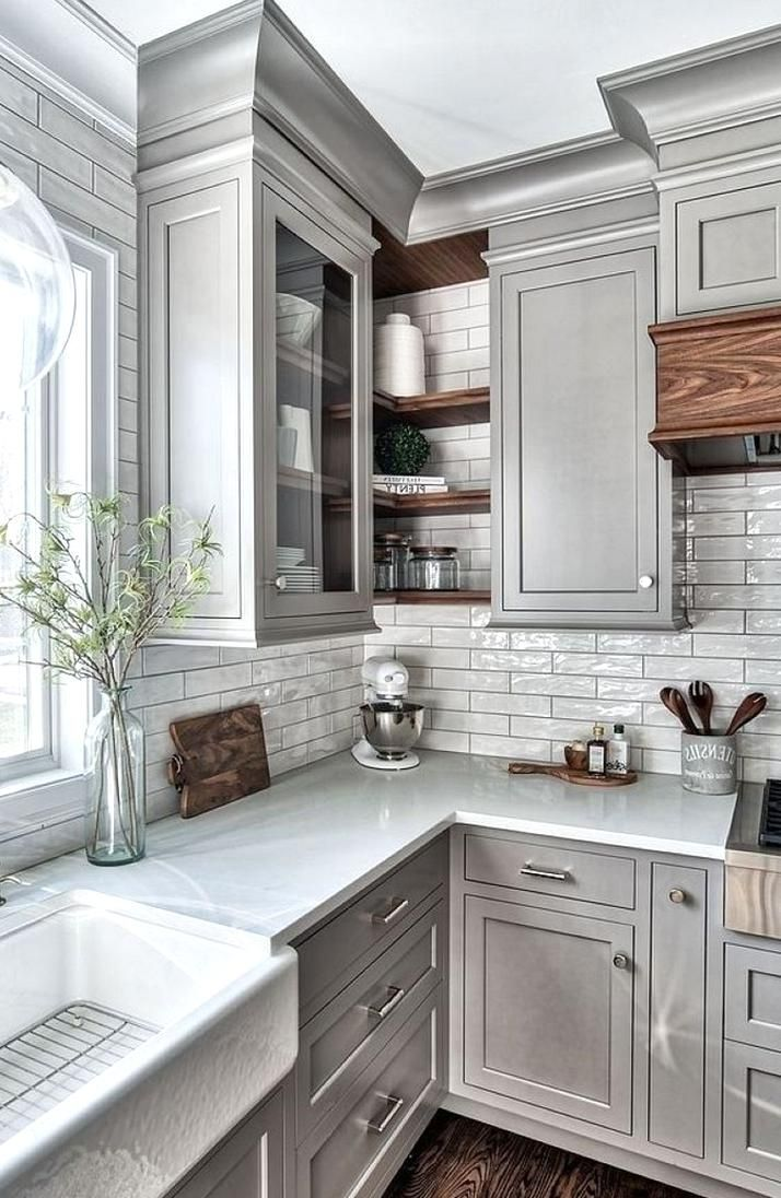 Grey kitchens will never go out of style These 25 photos ...