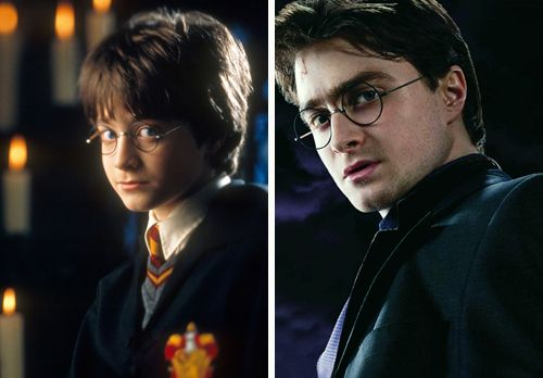 Harry In The Beginning And At The End Harry James Potter Harry Potter Universal Harry Potter Obsession