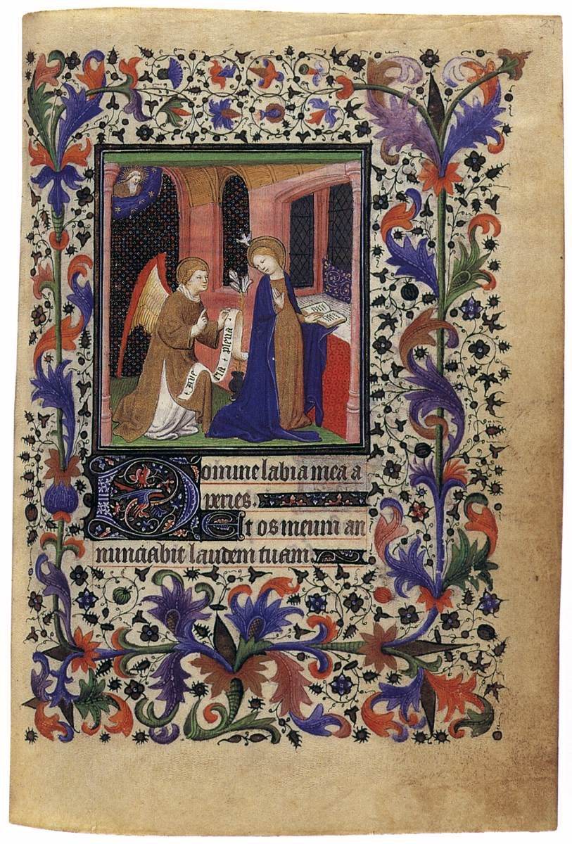 Book of Hours c. 1412 Manuscript Private collection