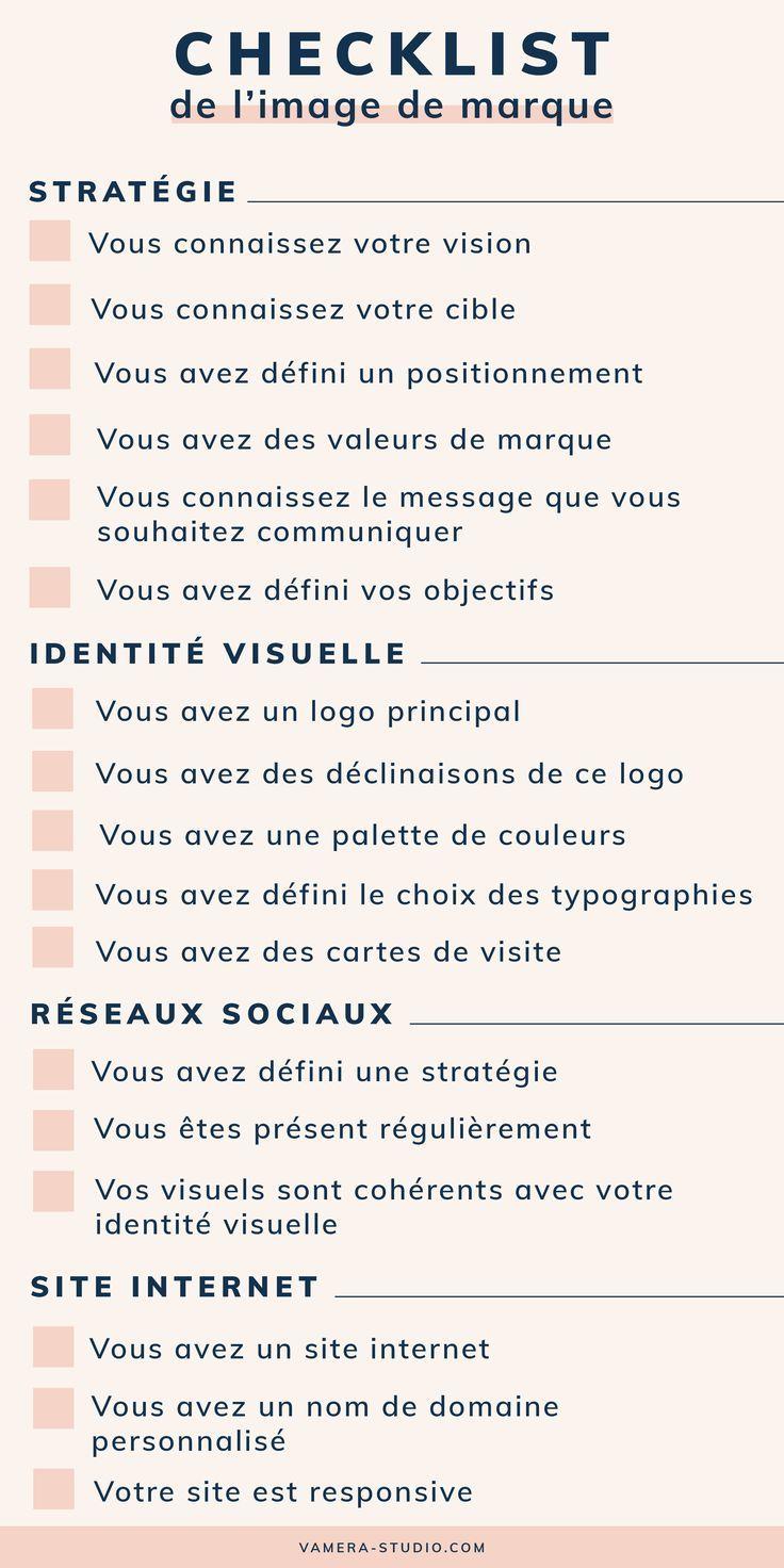 La checklist indispensable pour créer une marque