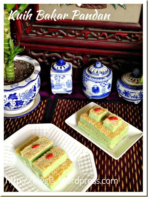 INTRODUCTION This kuih is very much like a baked custard that is full of Pandan and egg aroma. It is soft and resembling biting the top green custard layer of the Kuih Salat or Kuih Seri Muka. That...