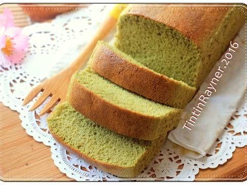 Resep Castella Green Tea Aka Kasutera Traditional Japanese Honey Cake Oleh Tintin Rayner Resep Makanan Resep Muffin