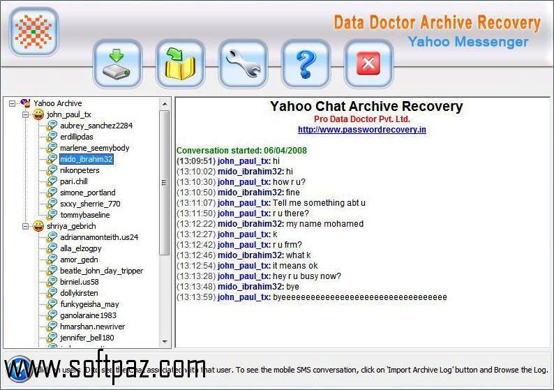 yahoo messenger archive