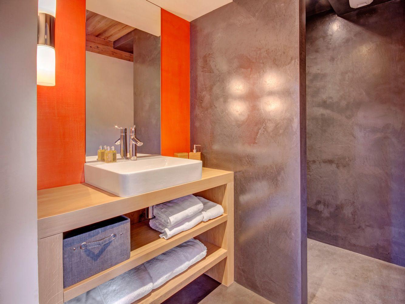 Perfect Salle De Bains Orange