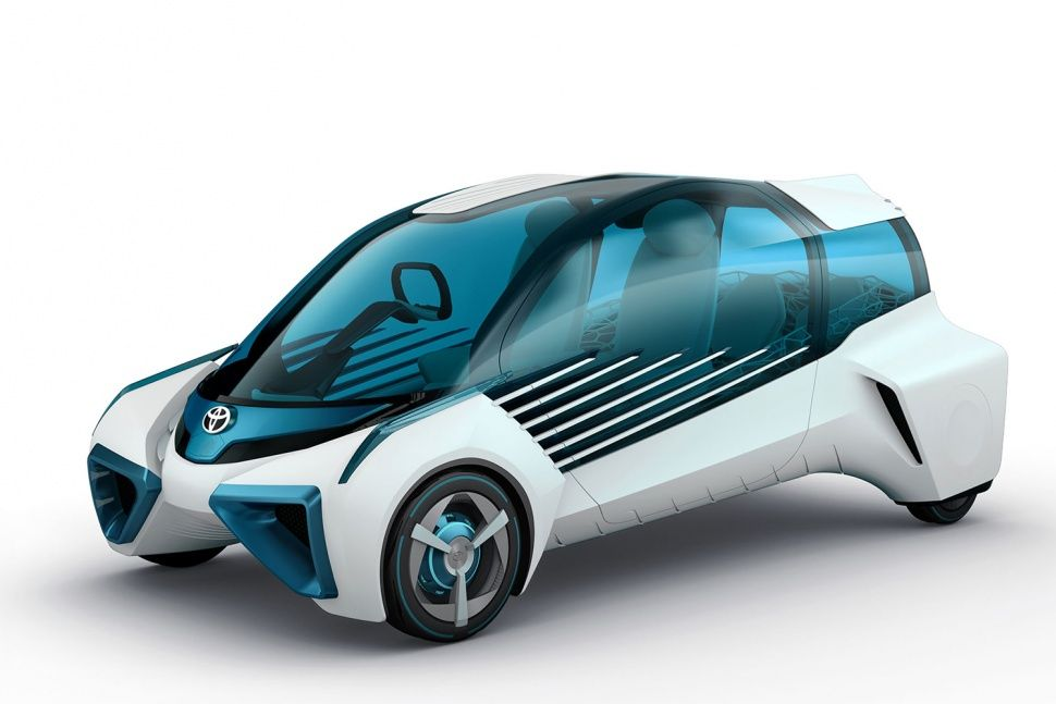 The Toyota Fcv Plus Concept Is A Car And Giant Portable Emergency Generator