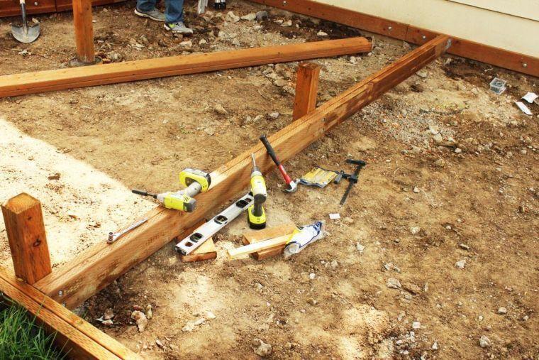 tuto pergola et terrasse bois decking #buildingadeck Deck Building