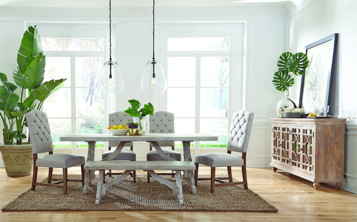 The Elle 78 Dining Table Is Simple Yet Elegant The Elle Seats 6