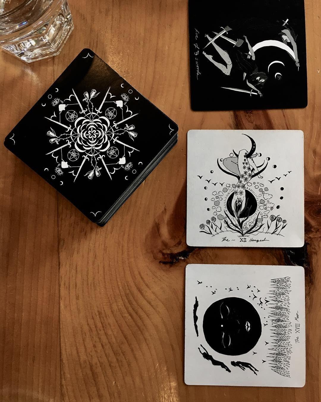 Past Present Future | Dark Days Tarot Created by Wren McMurdo Sign