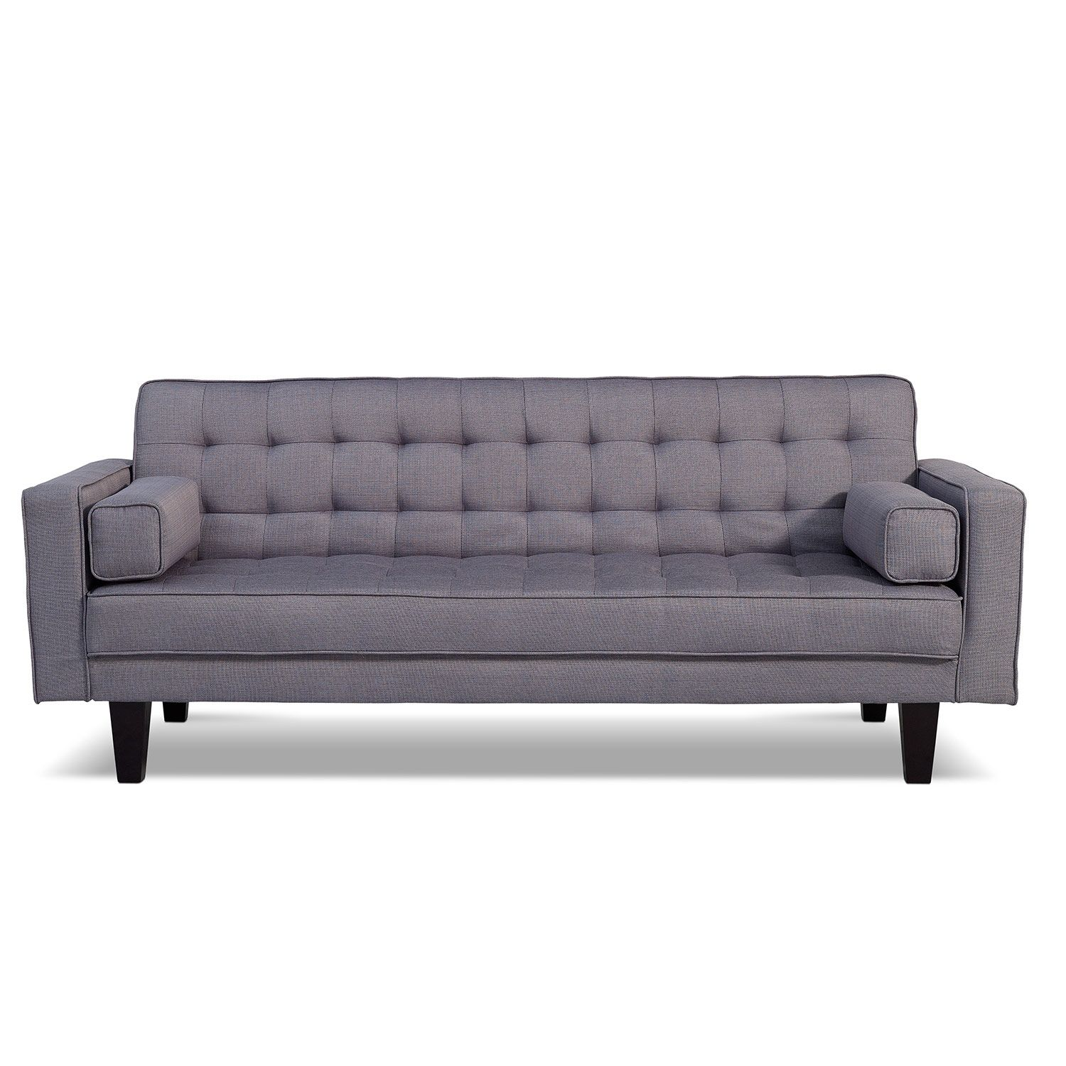 value city does have it in gray bianca futon sofa bed