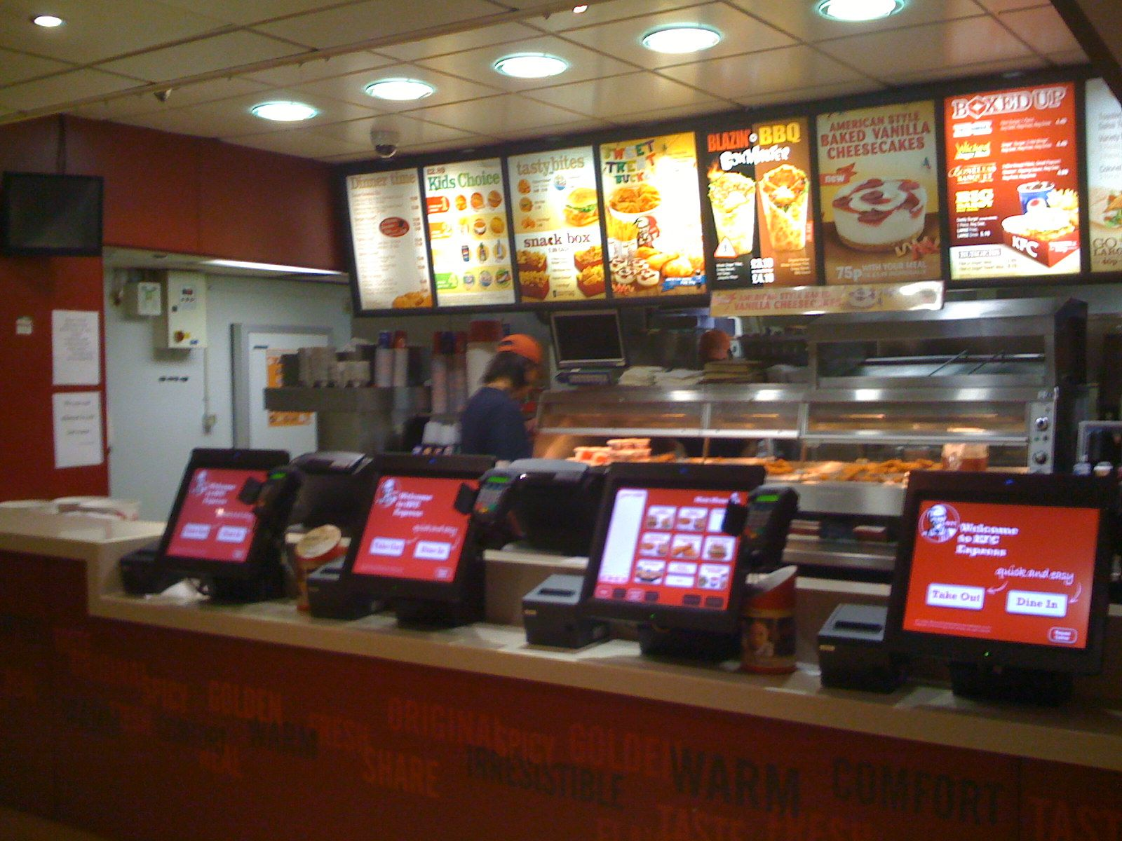 Lcd Ordering System At Kfc Service Design Service