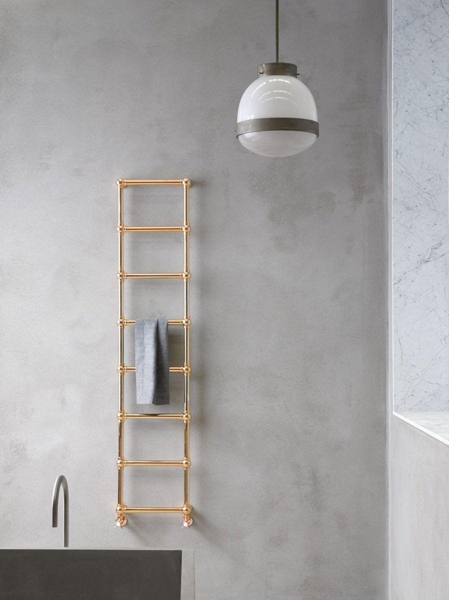 Caesar Slideshow Chauffe Serviette Idee Toilettes Luminaire Rond