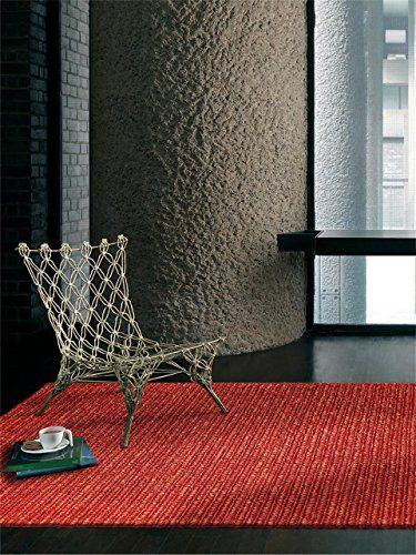 benuta Modern Designer Rug Jute Loop Red 160x230 cm online kaufen bei - teppiche für die küche