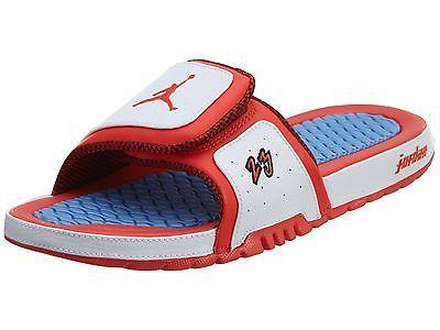 d66cc8322 Jordan Hydro 2 Premier Mens 456524-102 White Crimson Blue Slide Sandals  Size 11