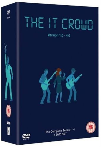 The IT Crowd - Complete series 1 - 4 (Import)