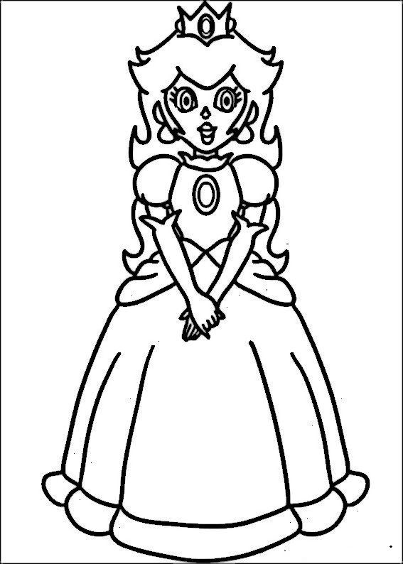 Mario Bross Ausmalbilder Malvorlagen Zeichnung Druckbare Nº 34