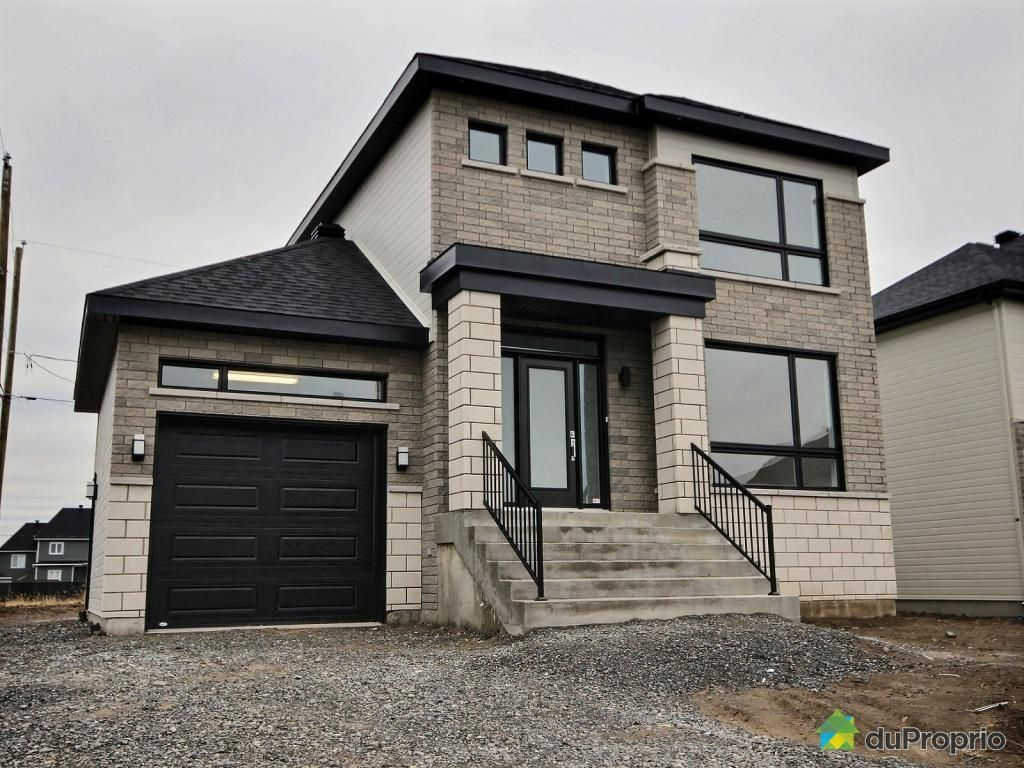 Maison neuve vendre beloeil 1234 rue r gis phaneuf immobilier qu bec duproprio 654737 for Construction maison neuve quebec