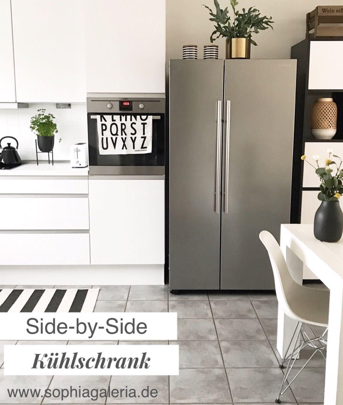 Think Big Unser Neuer Side By Side Kuhlschrank Sophiagaleria Side By Side Kuhlschrank Haus Deko Kuchen Inspiration