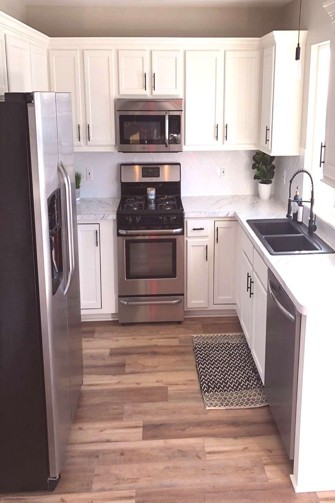 #difference #kitchen #remodel #finally #indoor #swipe #done #our #see #the #is #to #k Our kitchen remodel is finally done Swipe to see the difference kYou can find Diy kitchen and more on our website.Our kitchen remodel is final...
