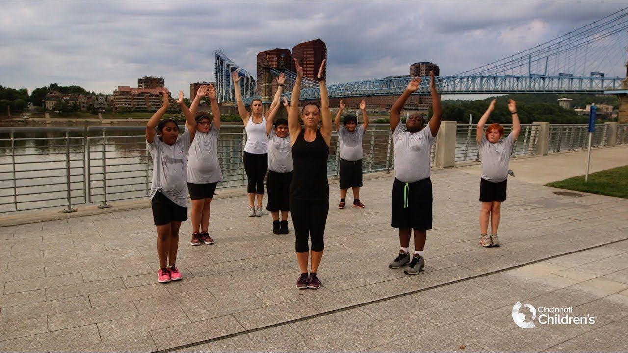 HealthWorks! Youth Fitness 301 -  Dance Cardio   Cincinnati Children's-#betternutrition #cardio #Chi...