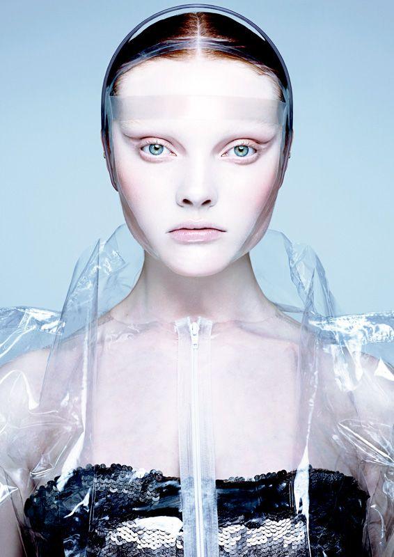 Alex Box Sunday Times Style Beauty: ninja like the plastic-y look