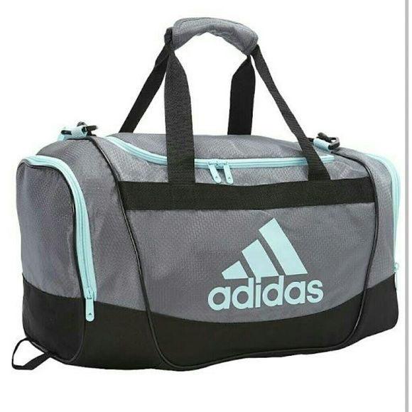 41fb629de3 Adidas duffle bag Adidas defender 11 small duffel bag. Size  20.5