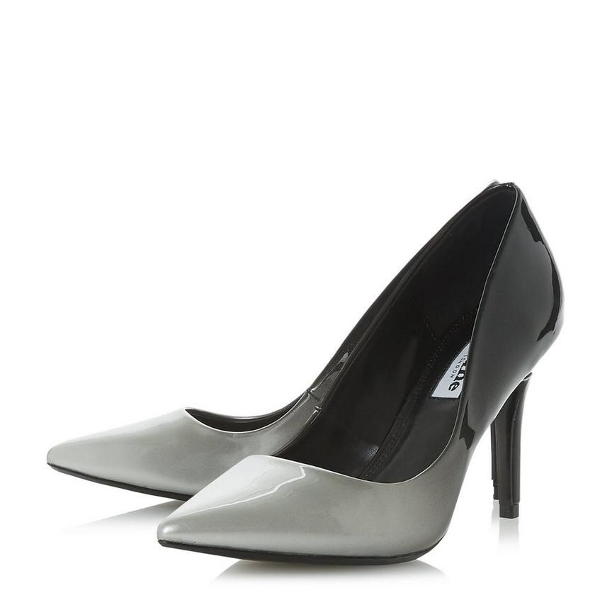 0d2363dd319 AMBRE - Ombre Mid Heel Court Shoe in 2019   shoes   Heels, Grey high ...