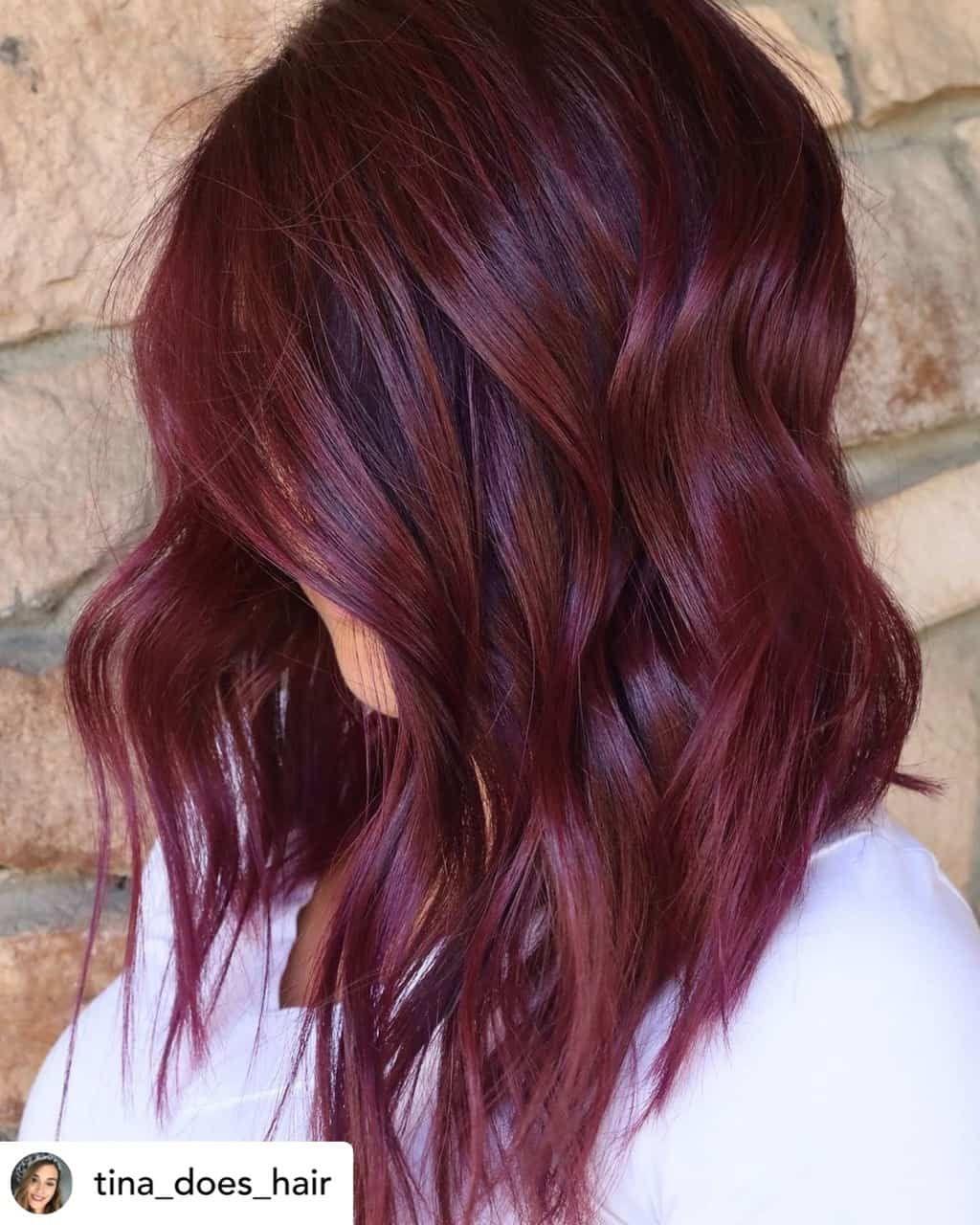 50+ Maroon hair color ideas ideas