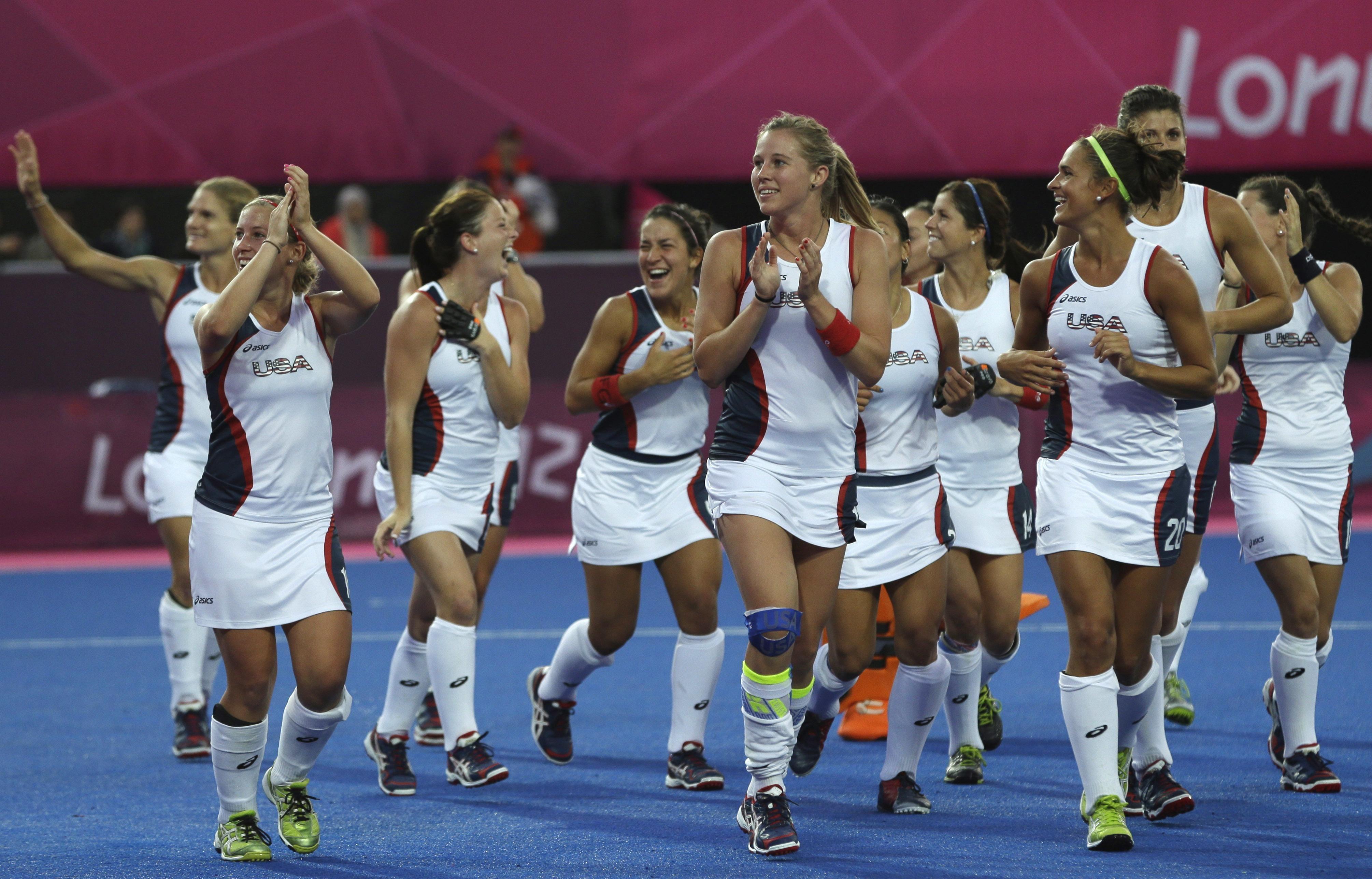 Usa Women S Field Hockey Believes It Has Joined The Elite Field Hockey Womens Field Hockey London Summer Olympics