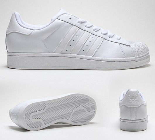 Adidas Superstar Foundation Girls Sneakers White