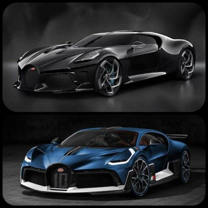 Bugatti Divo And La Voiture Noire