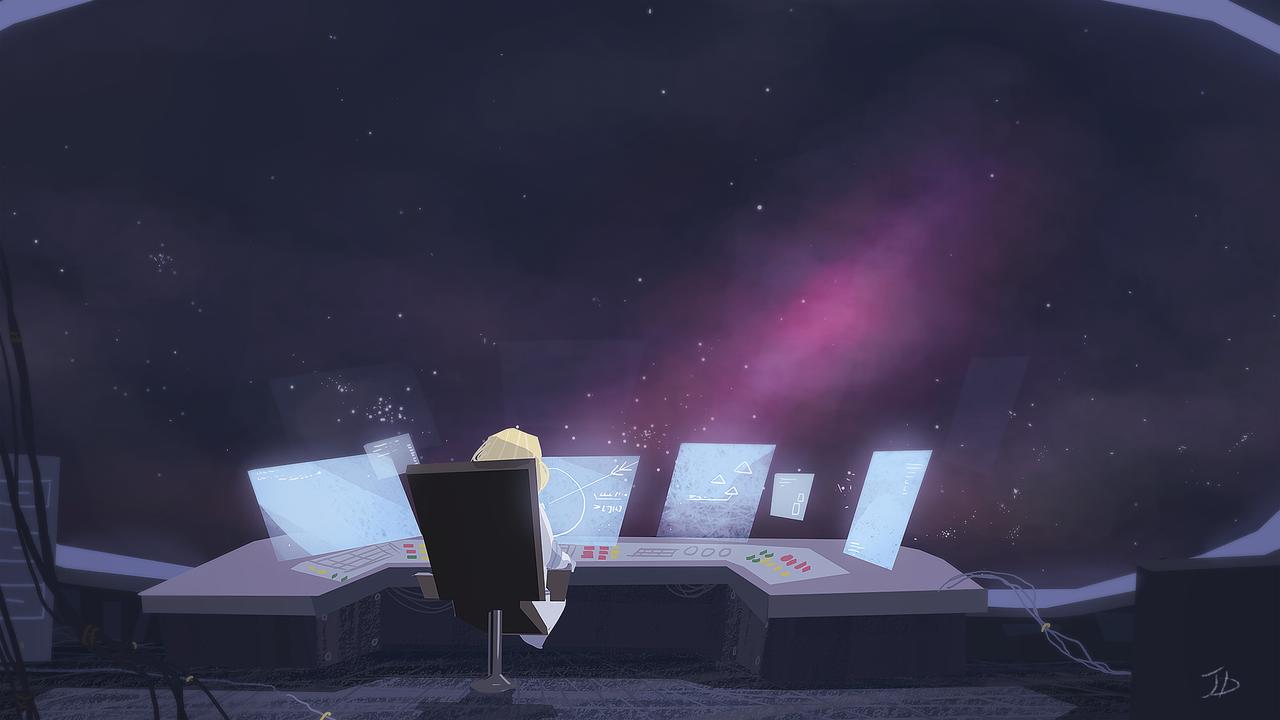 Beyond Space by teij