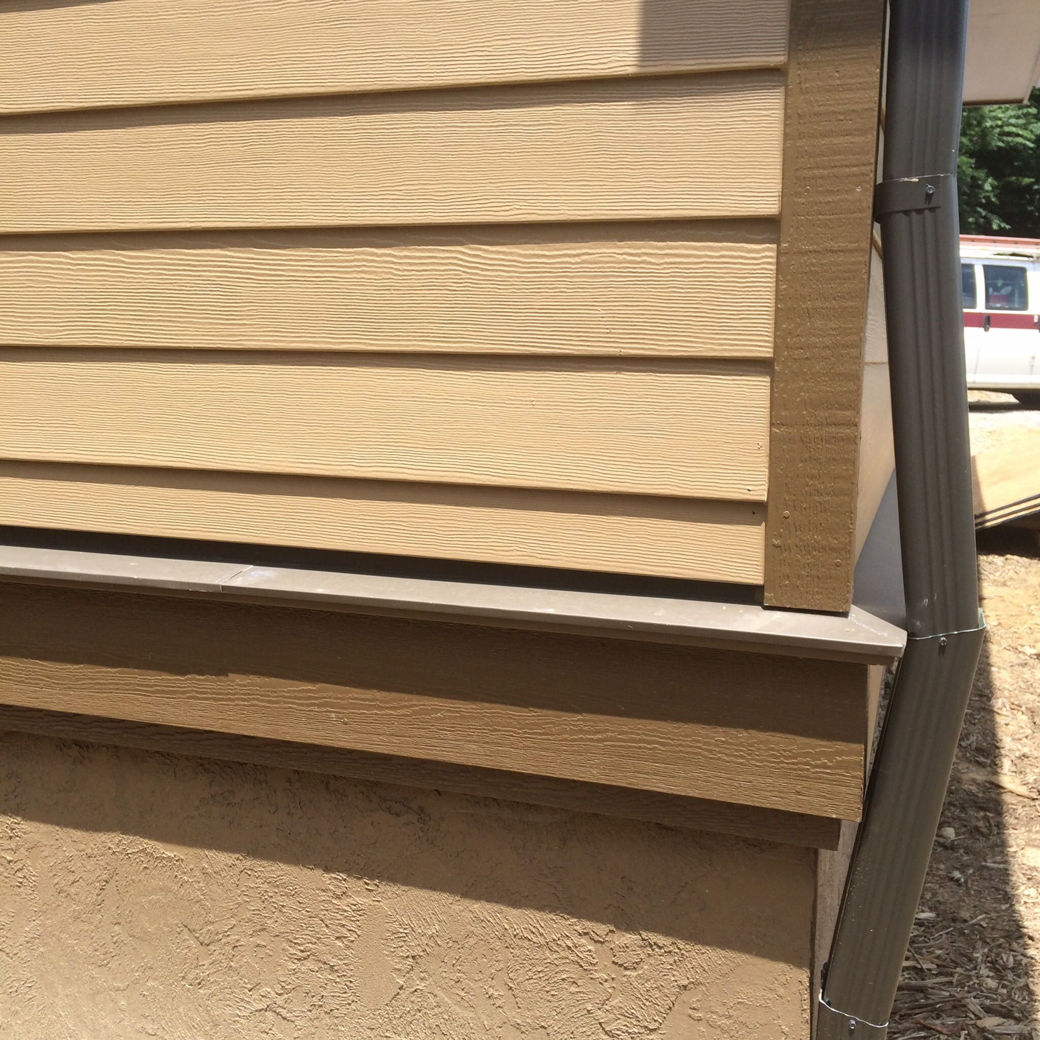 Hardie Clapboard Miratec Trim Band Board Builtwright