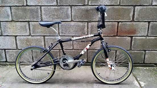 Gt Aggressor Black Bmx Bicycle Bike