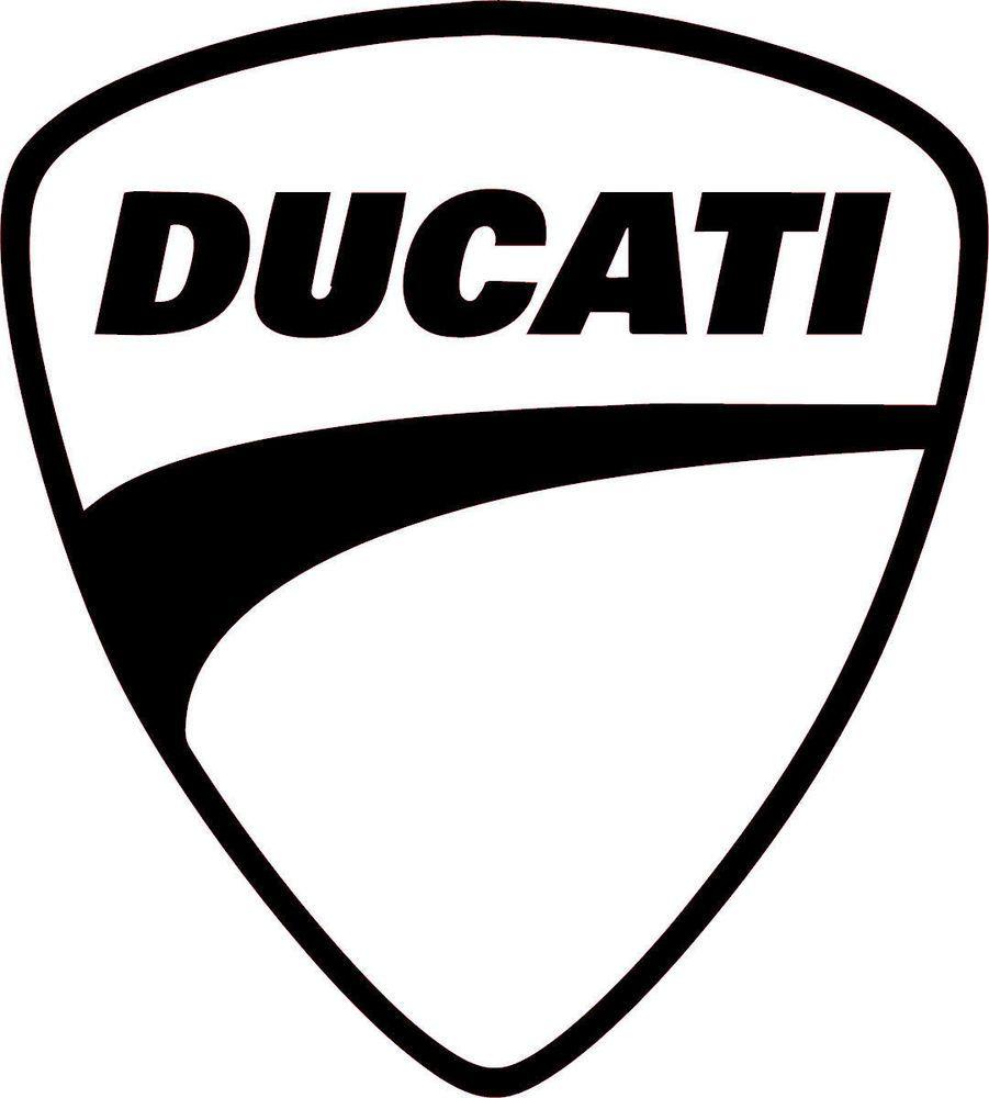 Ducati Multiple Colors Vinyl Sticker Decal Logo Racing Motorcycle - Ducati motorcycles stickers
