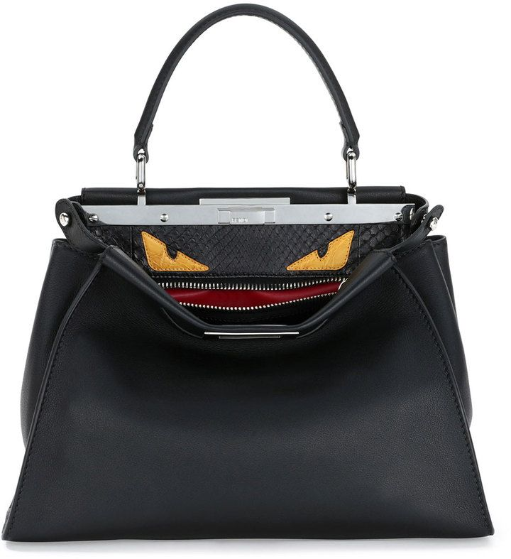 b84cb287f Fendi Peekaboo Monster Eyes Satchel Bag On ShopStyle | The Best Bags ...