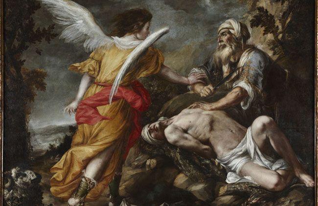 El sacrificio de Isaac, Valdés Leal, h 1657-59 Fondo Cultural Villar Mir, Madrid