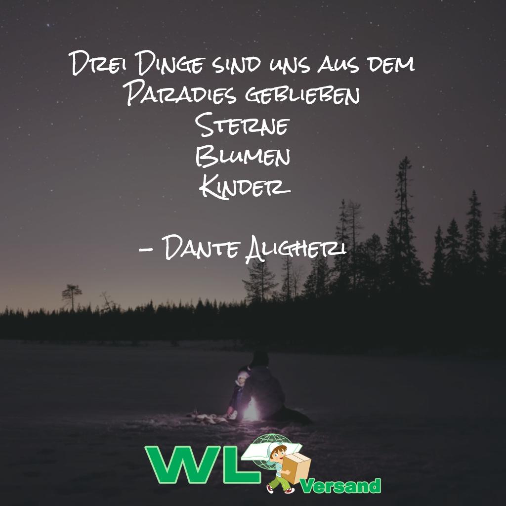 Ein Zitat des bekannten italienischen Dichters.   Zitate ...