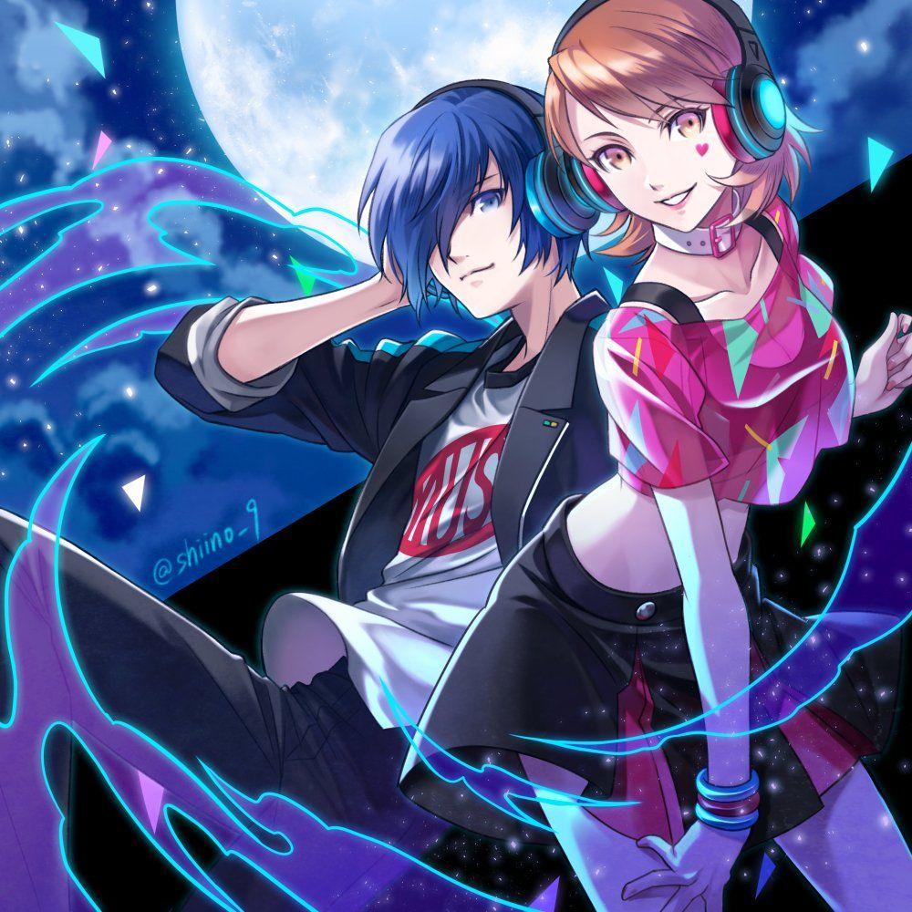 Shiino 9 Persona 3 Dancing Moon Night Takeba Yukari Yuuki
