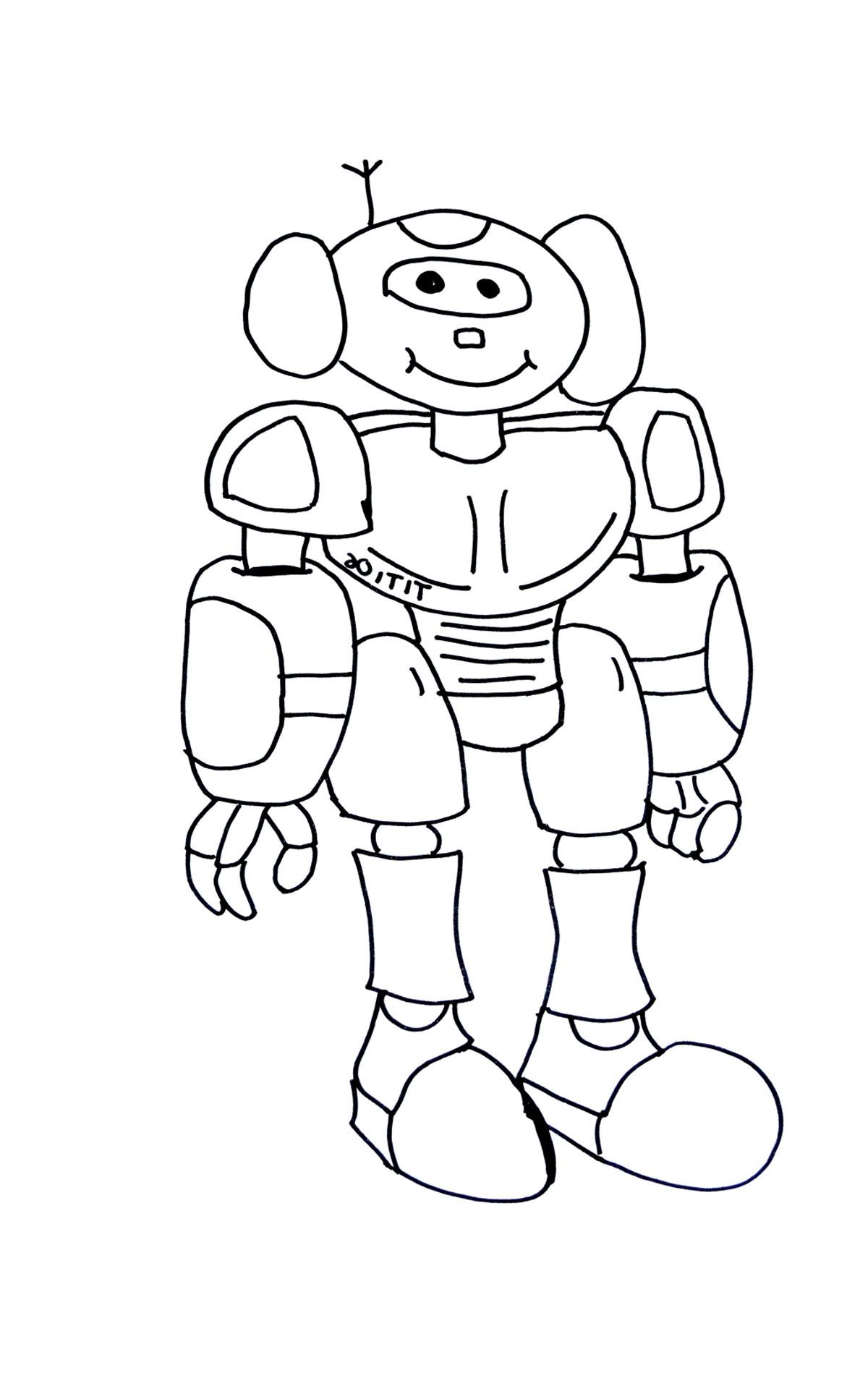 10 Precieux Coloriage Robot A Imprimer Gallery Coloriage Robot Coloriage Coloriage A Imprimer