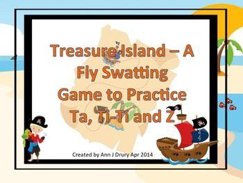 Treasure Island A Fly Swatting Rhythm Game To Practice Ta Ti Ti And Z Rhythm Games Pirate Songs Pirate Theme