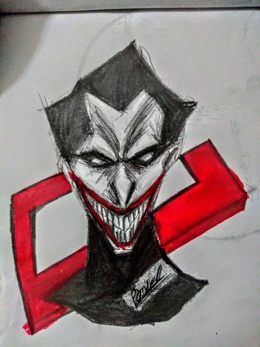 De nuevo xD un dibujo del joker pero mucho más simple Imágenes efectivas que le proporcionamos sobre lapiz retratos a Una imagen de alta calidad puede decir...