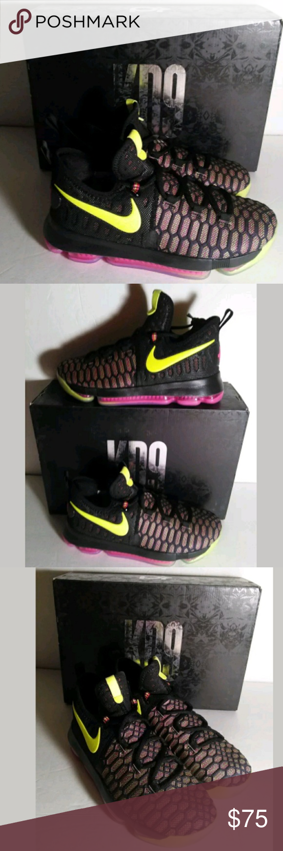 33d12650cac Nike Zoom KD9 Unlimited OC Olympic Shoes Brand New Nike Zoom KD9 Kevin  Durant s Unlimited OC