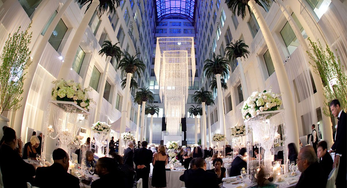 Cescaphe Event Group Philadelphia S Premier Wedding Brand The Atrium At Curtis Center