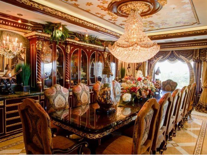 $38.8 Million Stunning Mansion In Los Angeles, California   Formal Dining  Room
